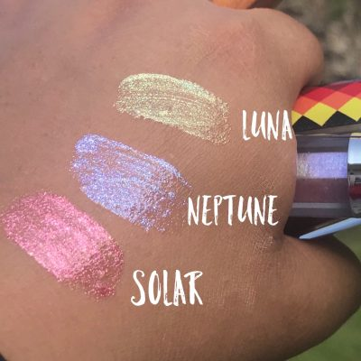 VanessaBillie Lipgloss Solar Color Shifting