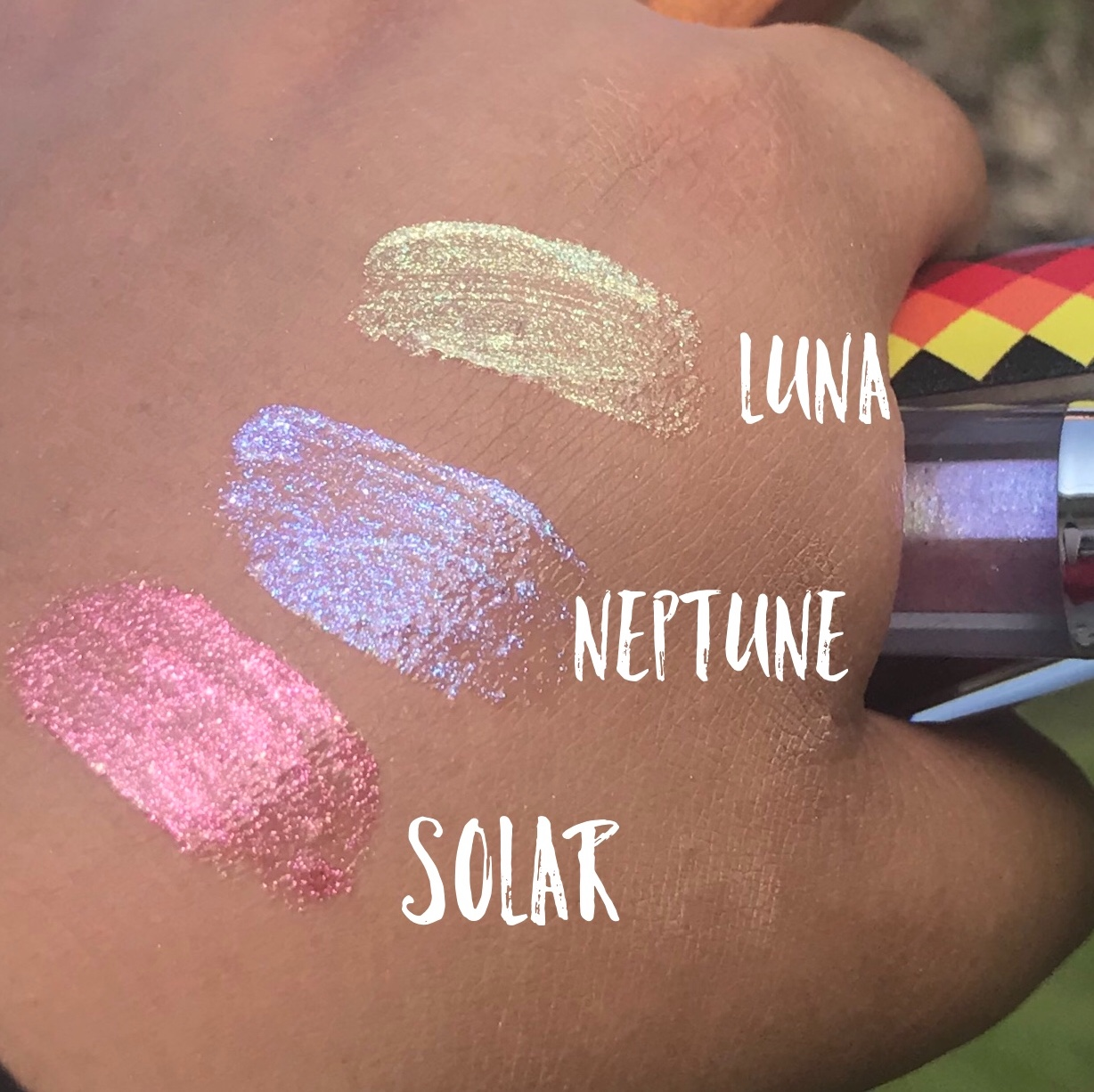 VanessaBillie Lipgloss Luna Color Shifting