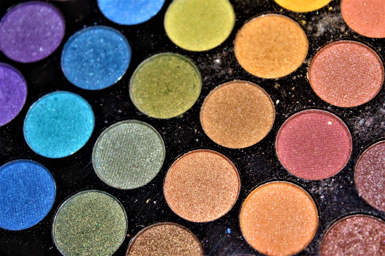 Unique designs for each eyeshadow palette